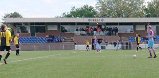 Beeld uit FC RDC vs. vv Gorssel op Sportpark Borgele (foto: Erik van Luttikhuizen)