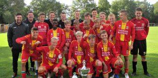 Giovanni van den Heuvel toernooi bij DVV Go-Ahead, winnaars Go Ahead Eagles JO-17