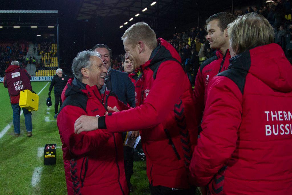 Jan van Staa & Kick Maatman Go Ahead Eagles - Foto: Henny Meyerink