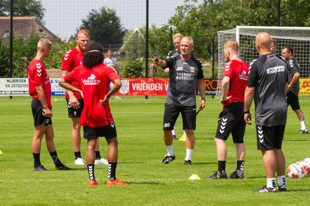 Jack de Gier in Terwolde - Go Ahead Eagles - Foto: Henny Meyerink