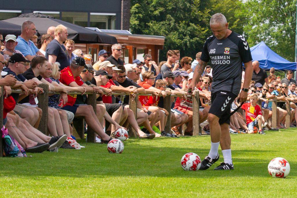 Jack de Gier gedurende de voorbereiding - Go Ahead Eagles - Foto: Henny Meyerink