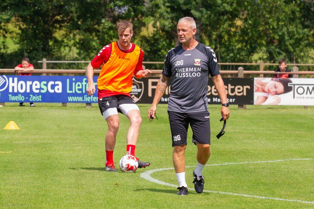 Jack de Gier en Jeroen Veldmate - Go Ahead Eagles - Foto: Henny Meyerink
