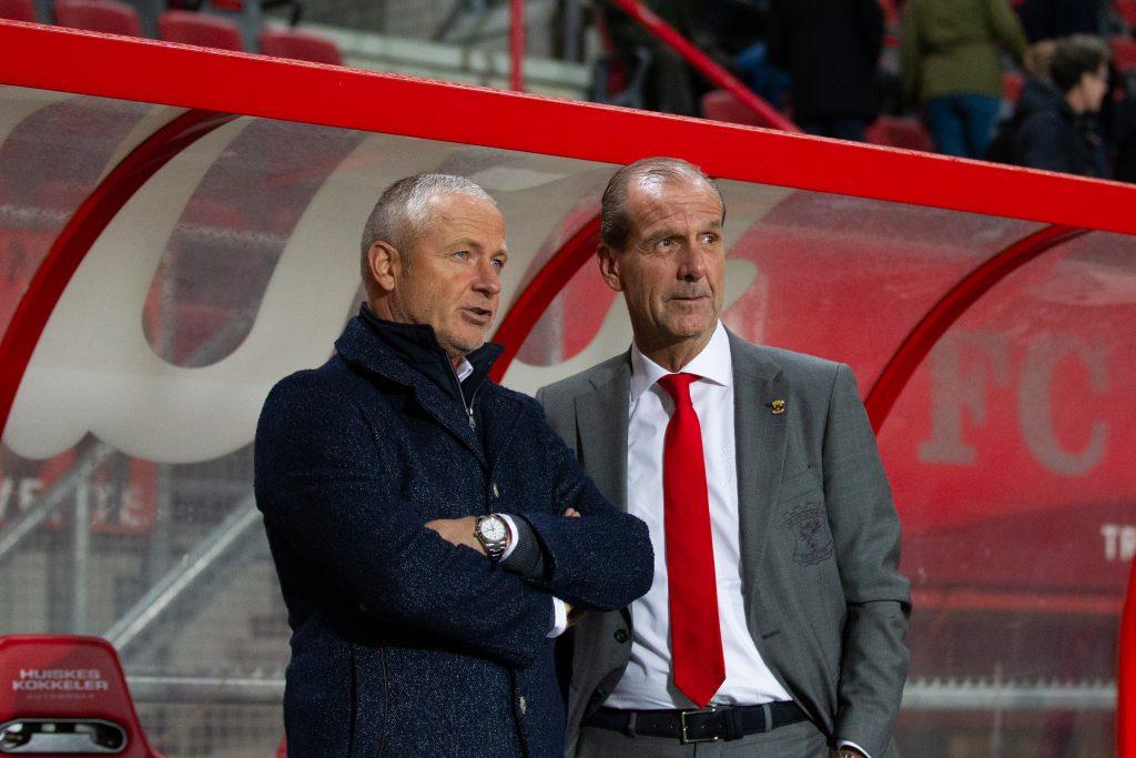 Jack de Gier en Jan Willem van Dop - Go Ahead Eagles - Foto: Henny Meyerink