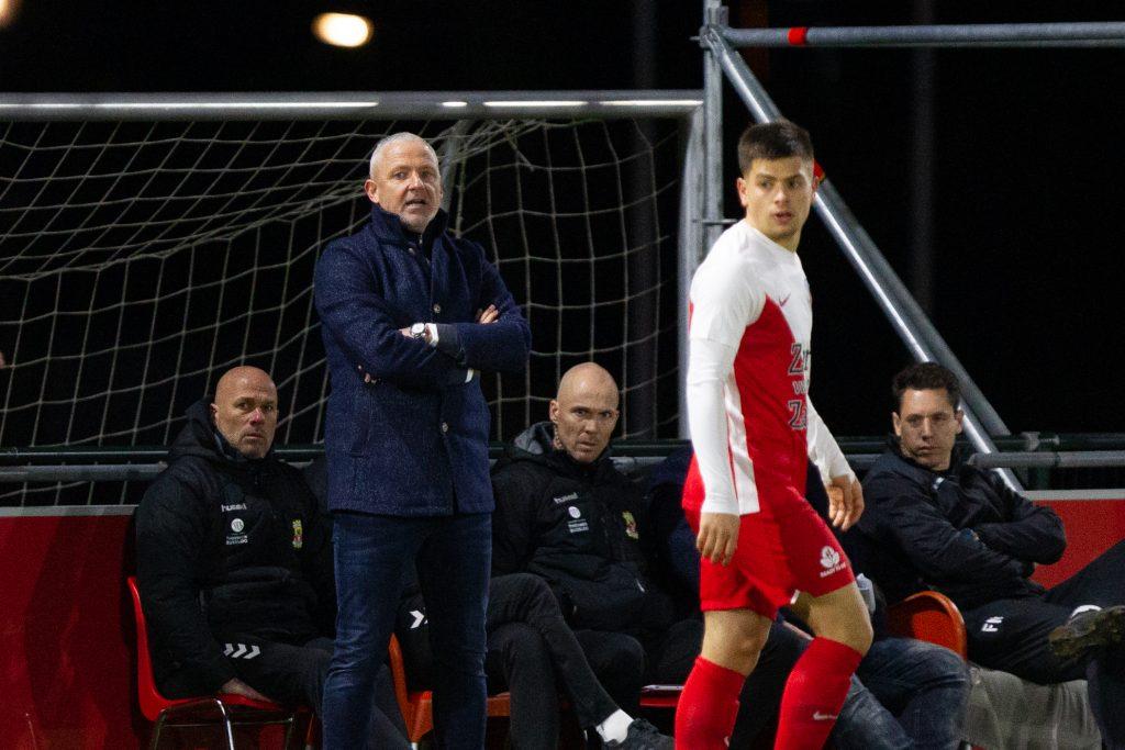 Jack de Gier bij Jong FC Utrecht - Go Ahead Eagles - Foto: Henny Meyerink