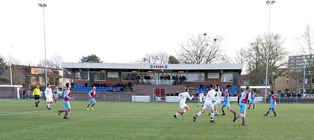 Beeld uit duel FC RDC vs. Prins Bernard uit Uddel.